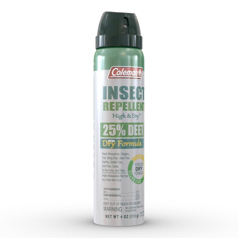 mosquito repellent 3d model