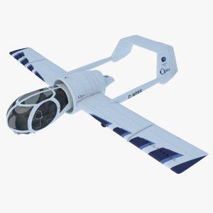 edgley optica plane 3d max