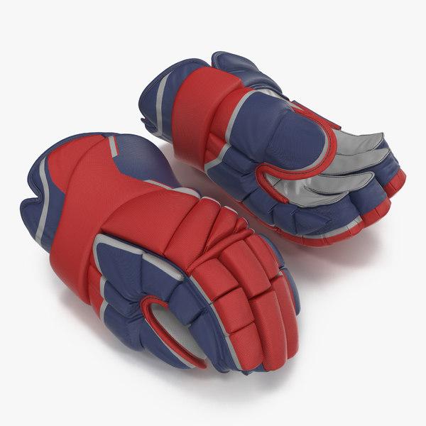 3d hockey gloves