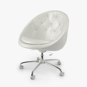 3d swiver office chair model