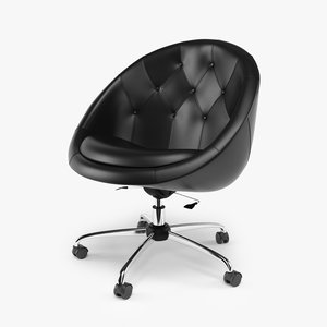 3d model swiver office chair