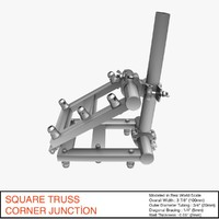 free obj mode truss corner junction 036