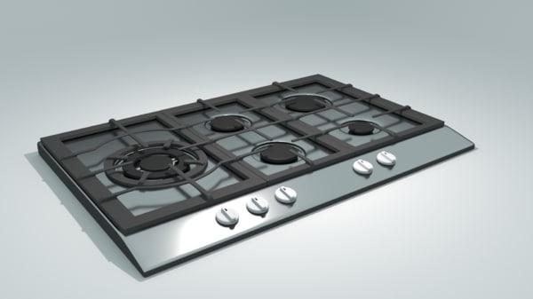 stove designed 3d 3ds
