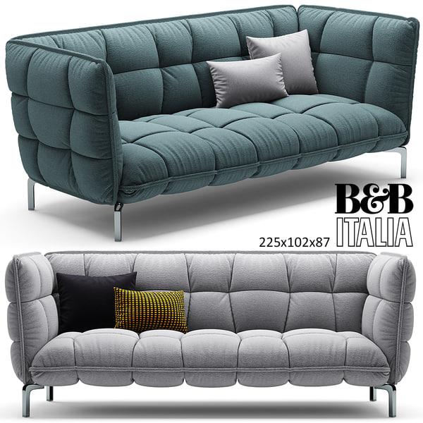 husk sofa b 3d max