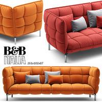 3d husk sofa b model