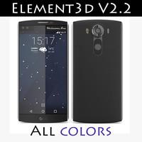 element v2 2 lg 3d c4d