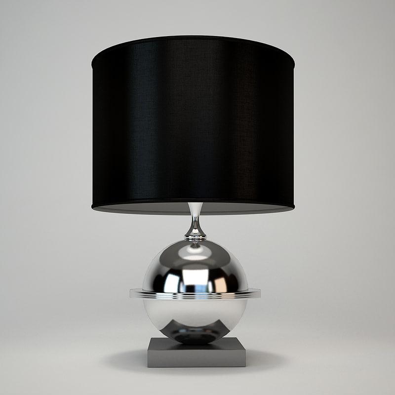 eichholtz orbit lamp 3d dxf