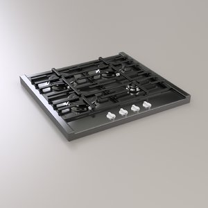 gas panel 3d model
