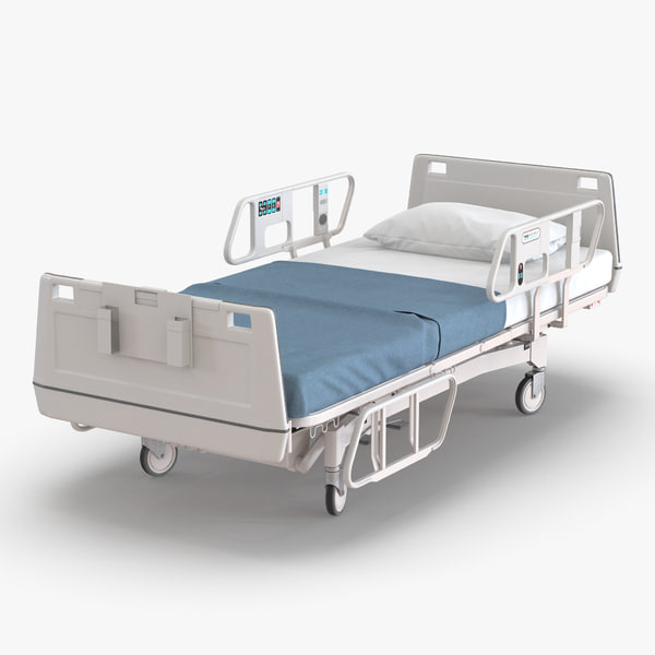 3d 3ds hospital bed