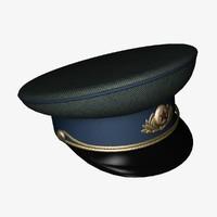 kgb peaked cap max