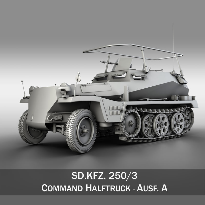 3ds sd kfz 250 3