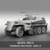 SD.KFZ 250 3 - Command Halftrack
