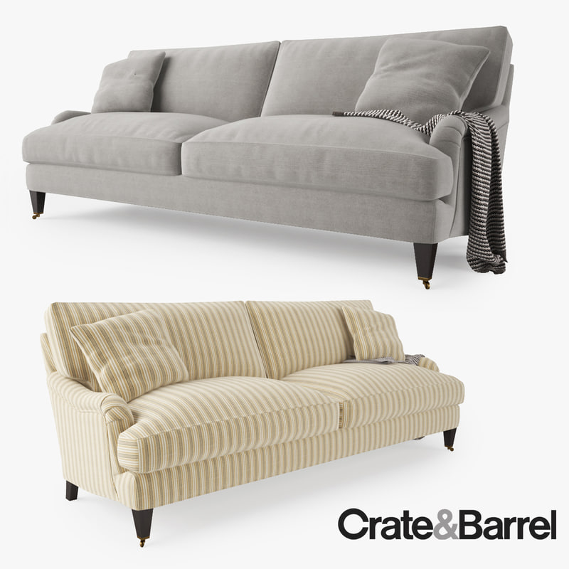 max crate barrel essex sofa