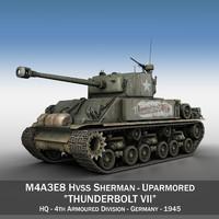 M4A3E8 HVSS Sherman - Thunderbolt VII