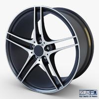 style 313 wheel ferric obj