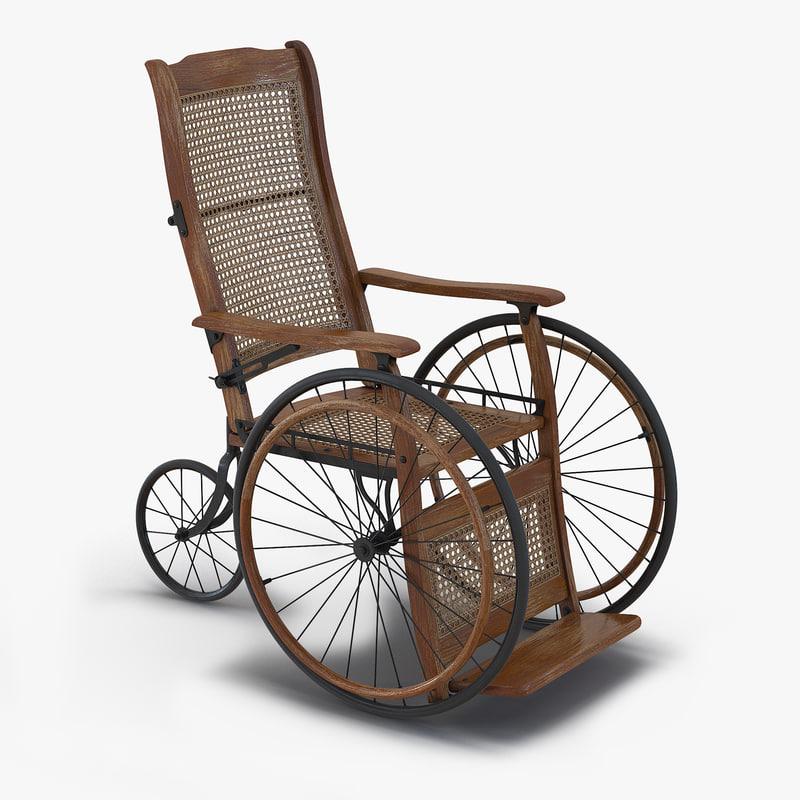 max vintage wheelchair