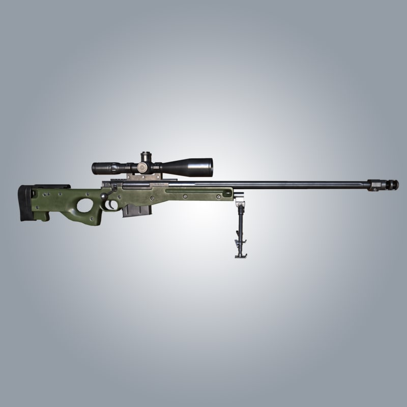 sniper rifle games 3d max