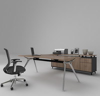 office desk 3d max