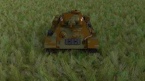 soviet 76 tank hdri obj