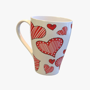 cup heart s 3d 3ds