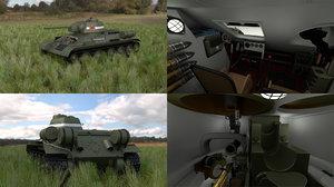fbx soviet 76 tank interior