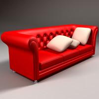 3d model sofa original