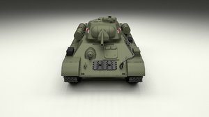 soviet 76 tank t 3d obj