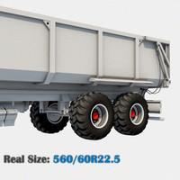 Wheel 560/60R22.5