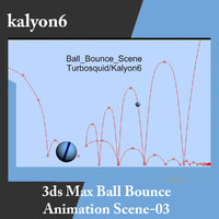 Ball Bounce Max Scene 03