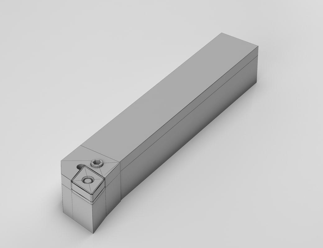 3d model lathe tool