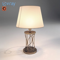 3d model lamp lighting