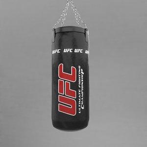 3d model punching bag v3