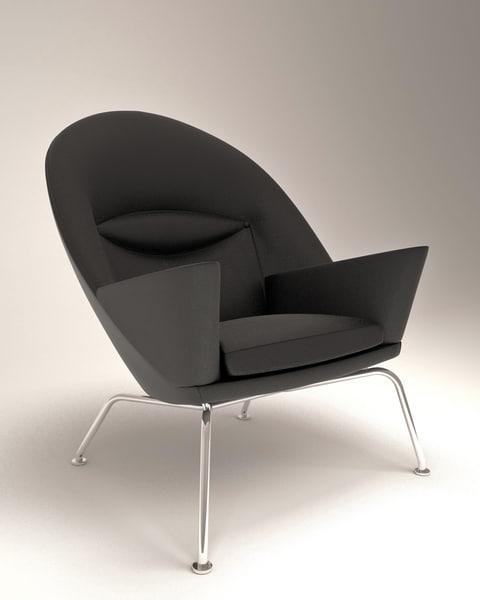 3d oculus chair hans j model