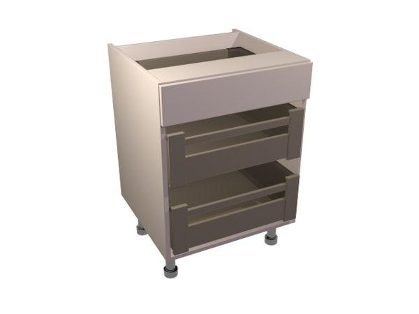 3d model internal drawer pack 1