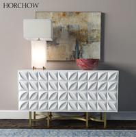Barrington Console   Alabaster Block Table Lamp