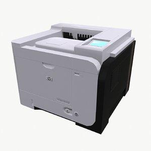 printer hp laser jet 3d 3ds