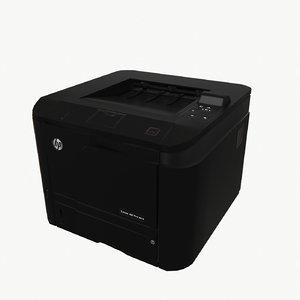 3ds printer hp laser jet