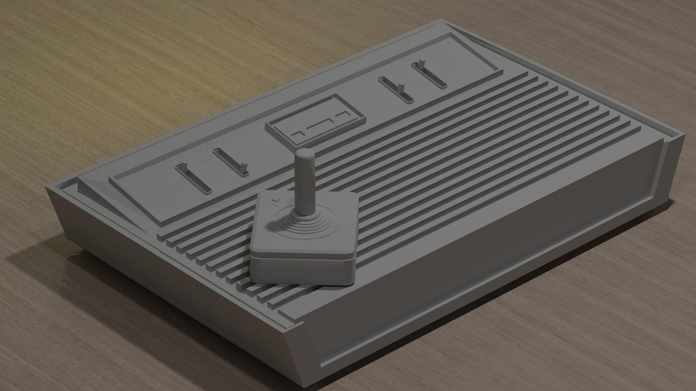 3d model atari