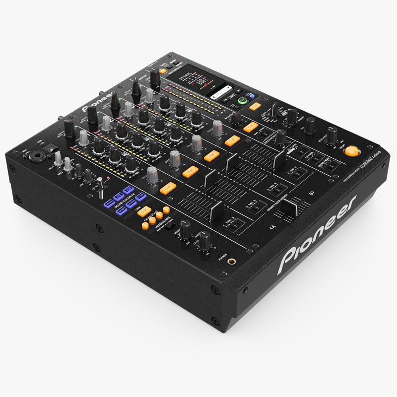 3d dj mixer pioneer djm-900