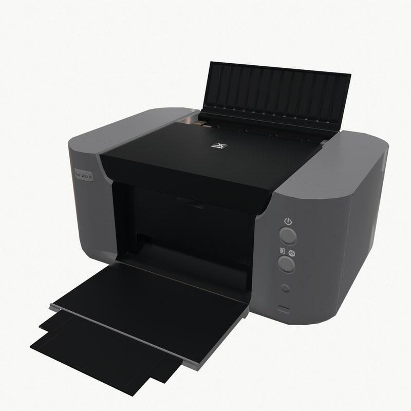 3d printer canon pixma pro