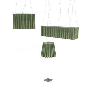 skirt lamp 3d model