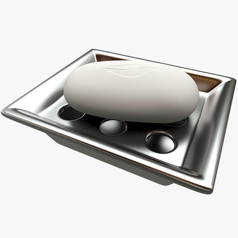soap support 3d model