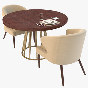 max lorae arm chair dining table