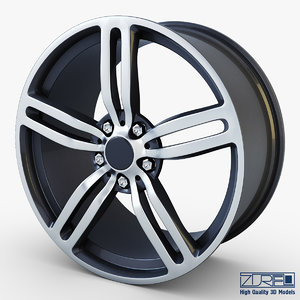 3d style 167 wheel ferric