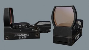 hakko gun sight 3d model