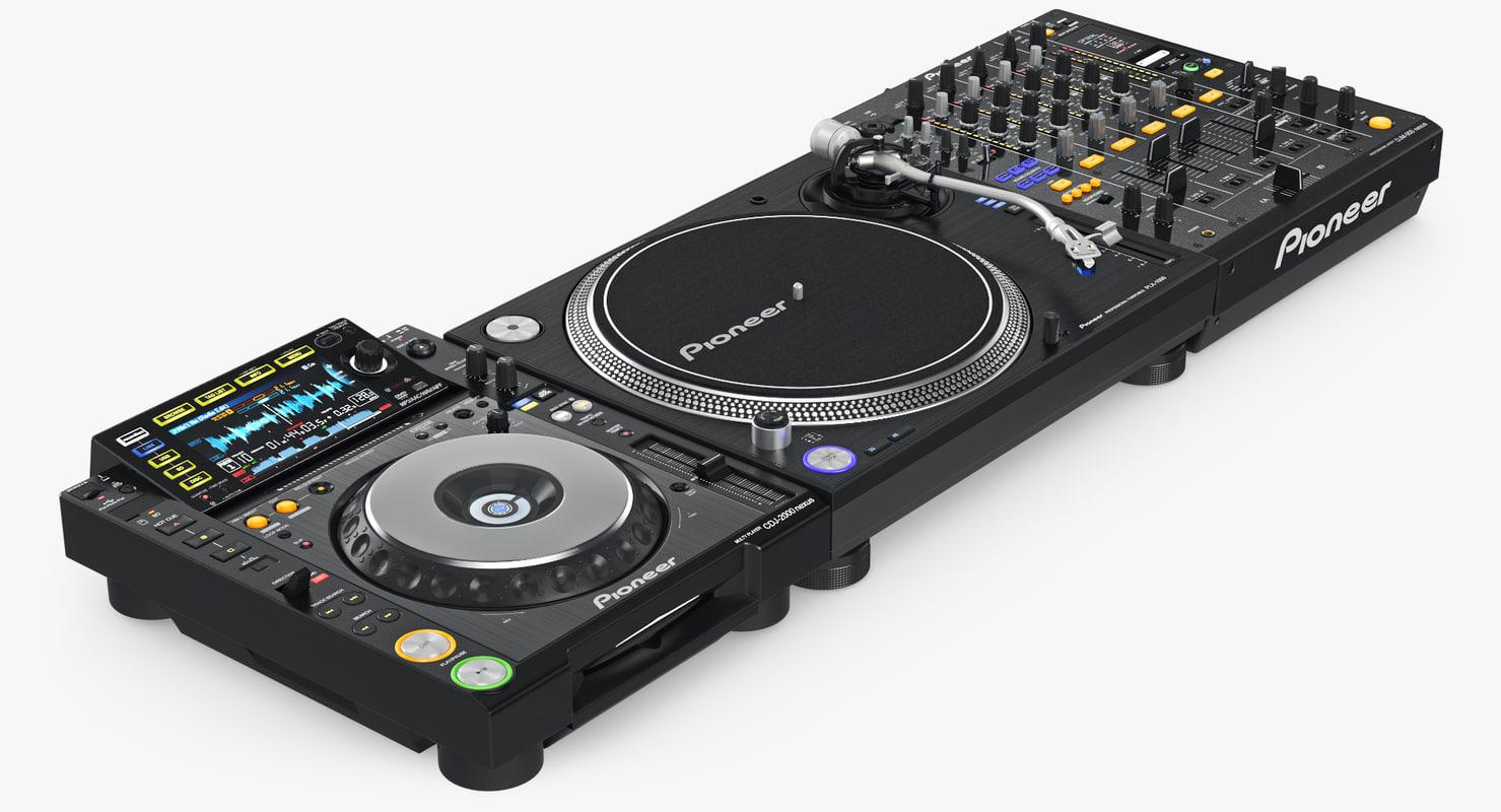 3d max dj pioneer setup 1