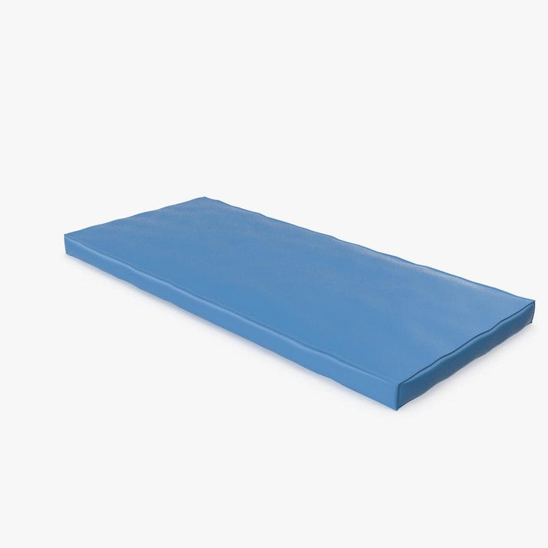 medical orthopedic mattress m2 3d model