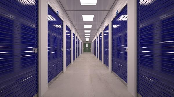 3d model of storage unit