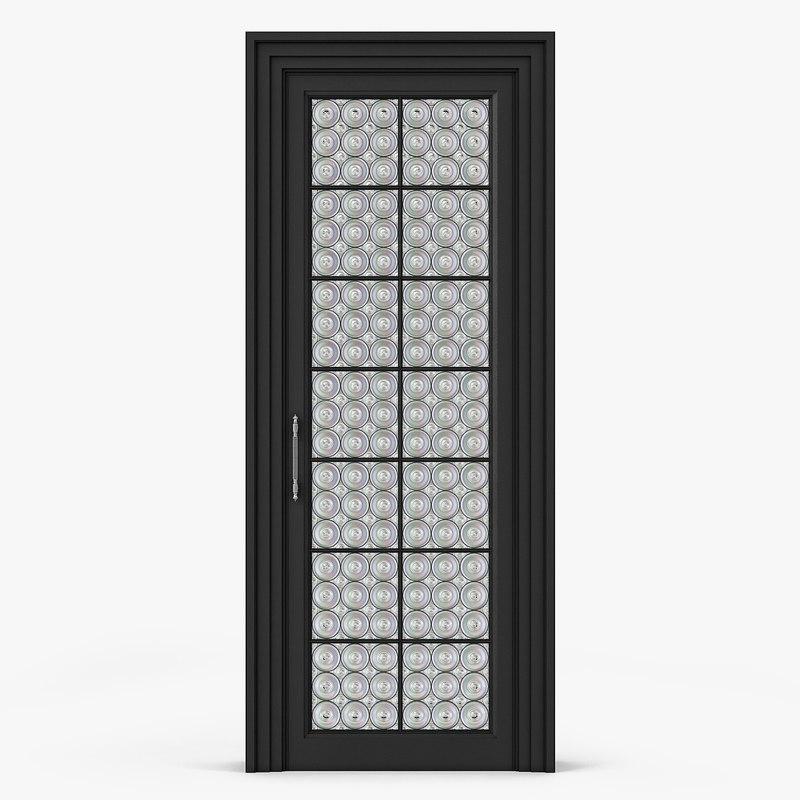 3ds doors glass interior
