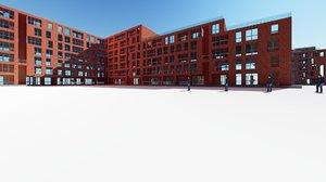architecture 3d max